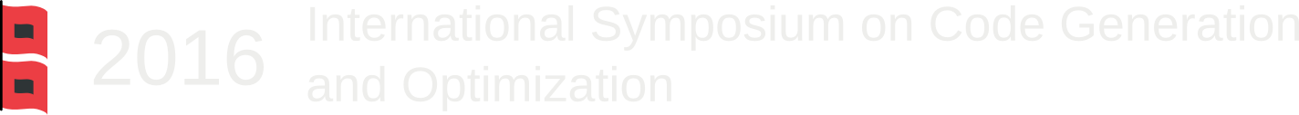 2016 International Symposium on Code Generation and Optimization Logo